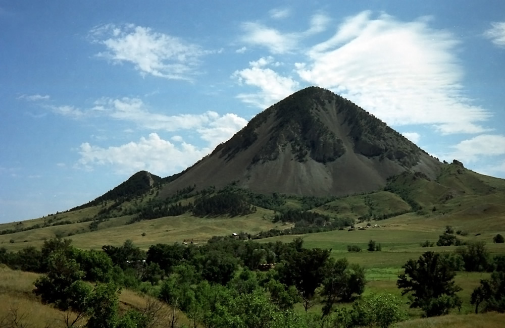 bear butte vortex
