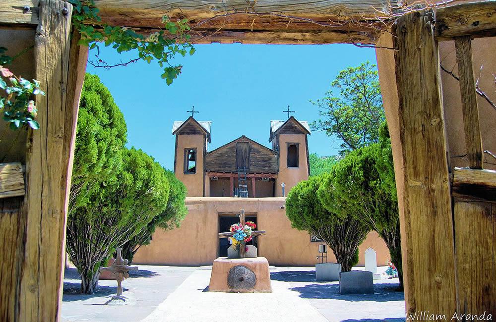 El Santuario De Chimayo Vortexes In New Mexico Vortex Map