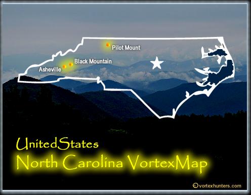 Vortexes In North Carolina Free Vortex Map